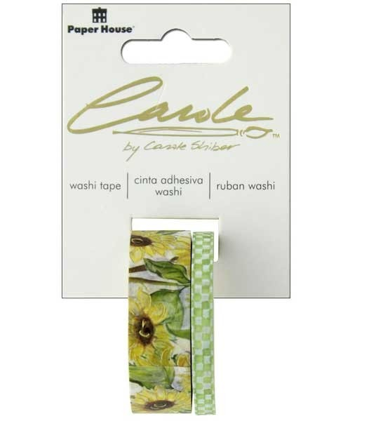 Sunflower Washi Tape Set