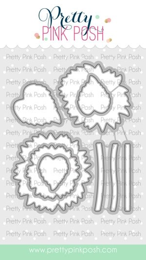 Pretty Pink Posh Sunflowers Die Set