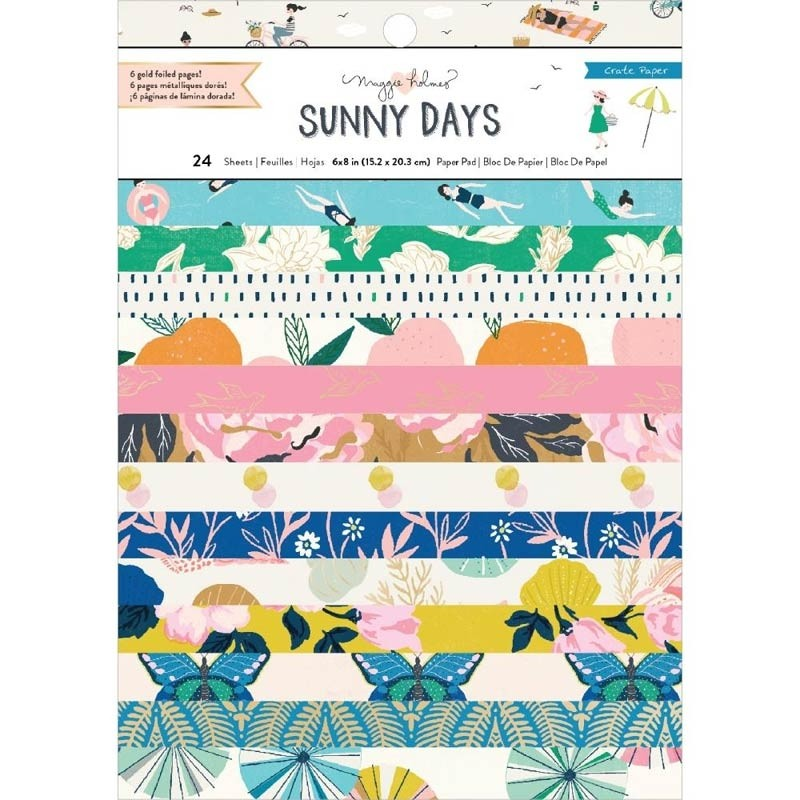 Crate Paper Sunny Days Paper Pack