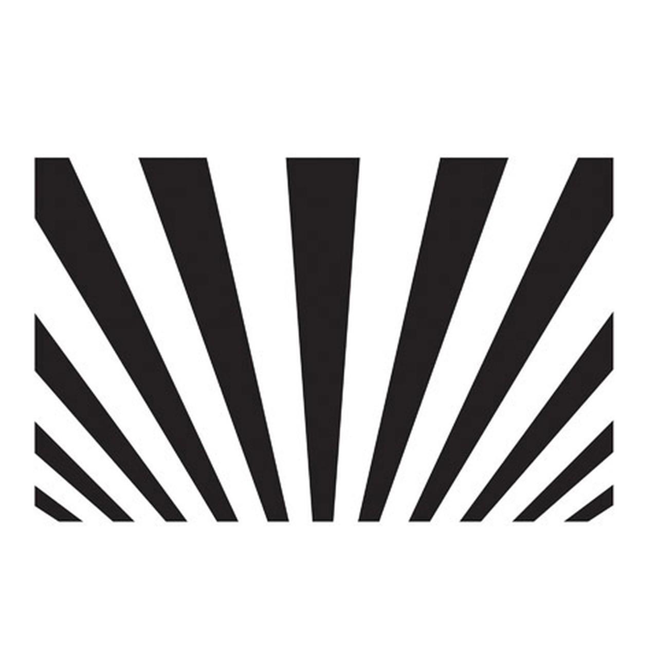 Sunray Embossing Folder