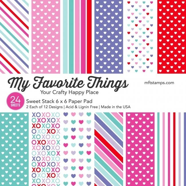 My Favorite Things Sweet Stack 6x6 Paper Pad