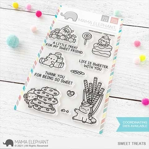 Mama Elephant Sweet Treats Stamps