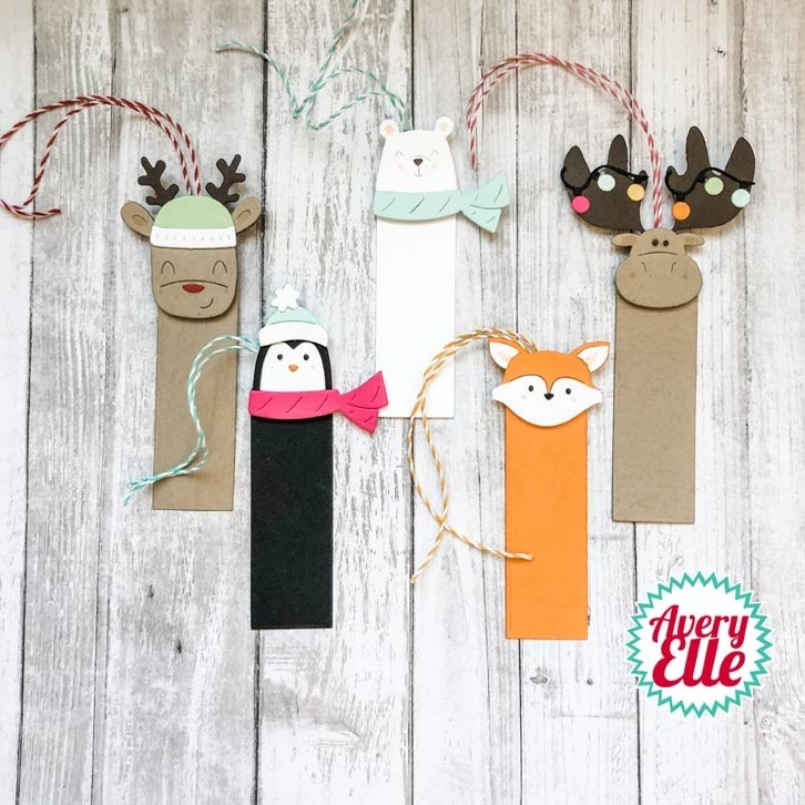 Avery Elle Peek-A-Boo Holiday Tag Toppers Dies d09-10