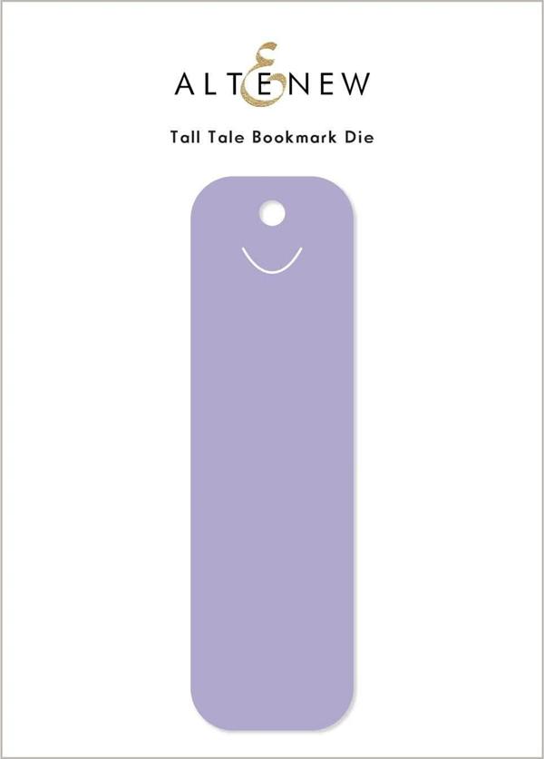 Altenew Tall Tale Bookmark Die