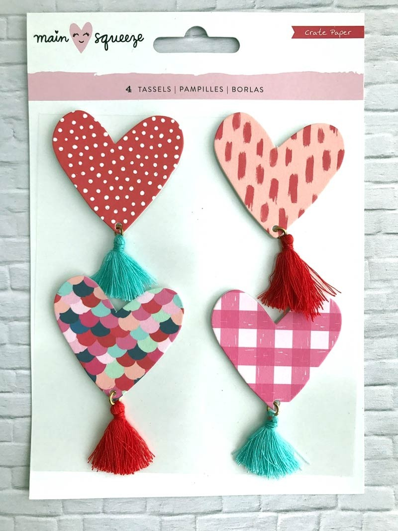 Main Squeeze Heart Tassels
