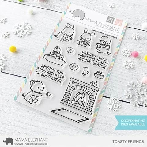 Mama Elephant Toasty Friends