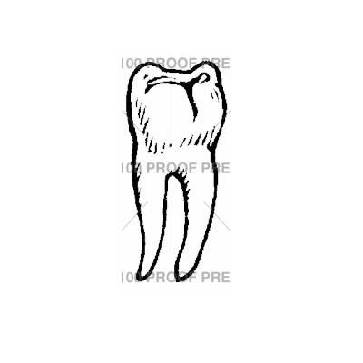 Healthy Tooth stamp
