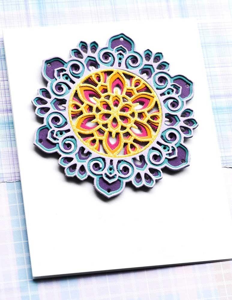 Birch Press Tranquility Layer Set craft die 57412