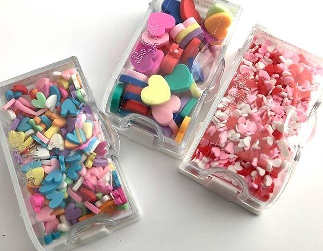 Heart Confetti Boxes