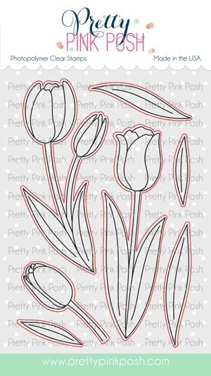 Pretty Pink Posh Tulip Corrdinating Dies