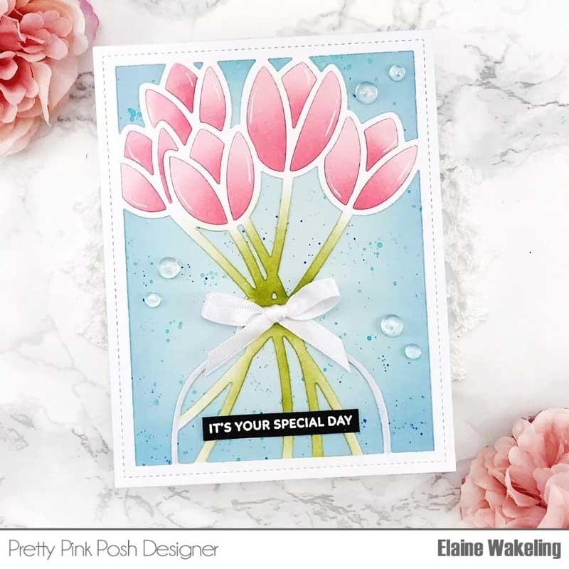 Pretty Pink Posh Tulip Cover Plate