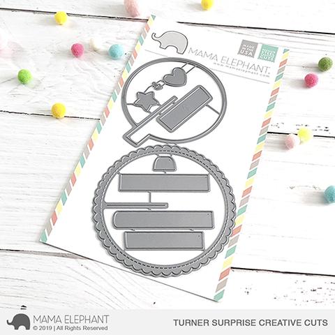 SALE - Mama Elephant Turner Surprise - Creative Cuts