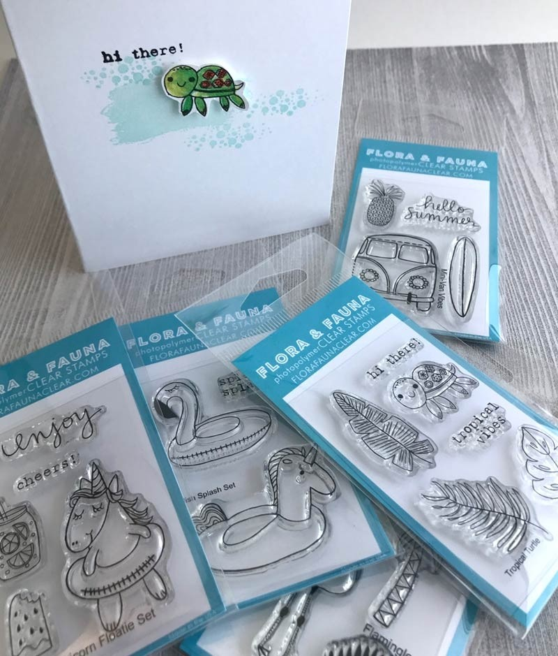 Mini Clear Sets from Flora and Fauna!