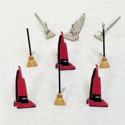 Vacuum & Broom Brads