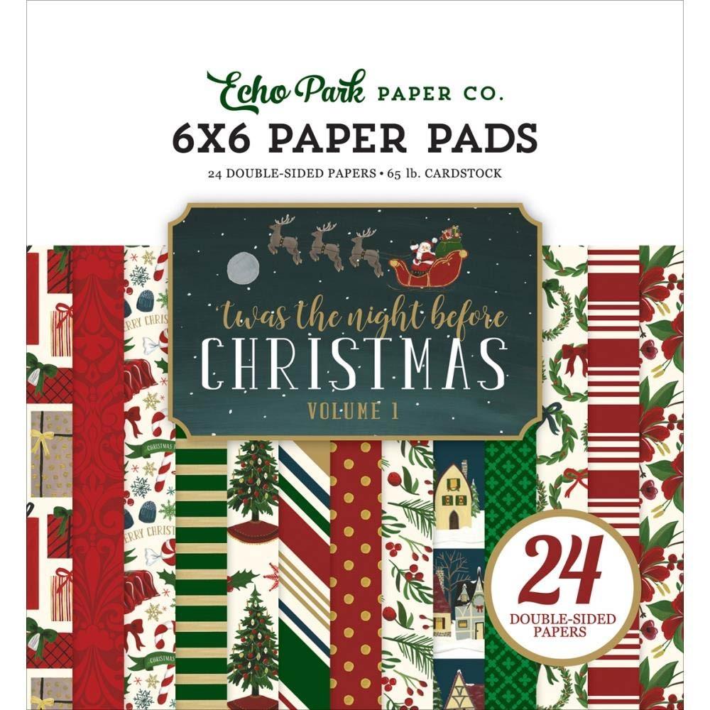 Echo Park Twas The Night Before Christmas 6x6 VOL1