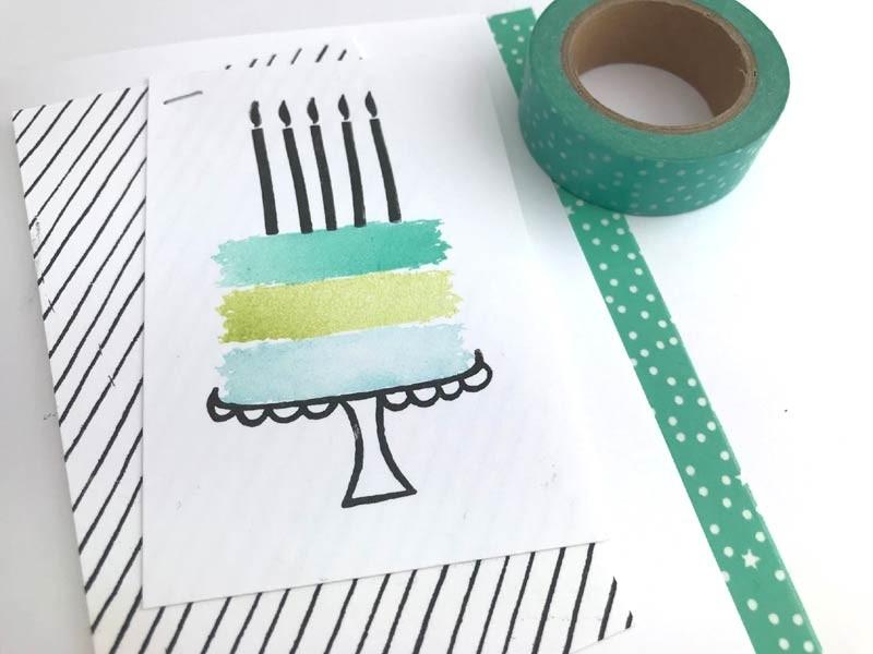 Turquoise Dots Washi Tape