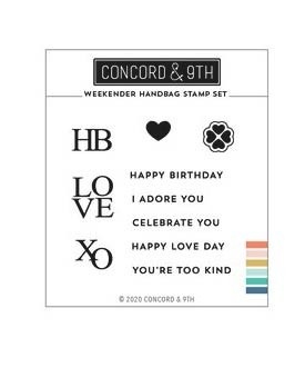 Concord and 9th Weekend Handbag Stamp  Set 11025