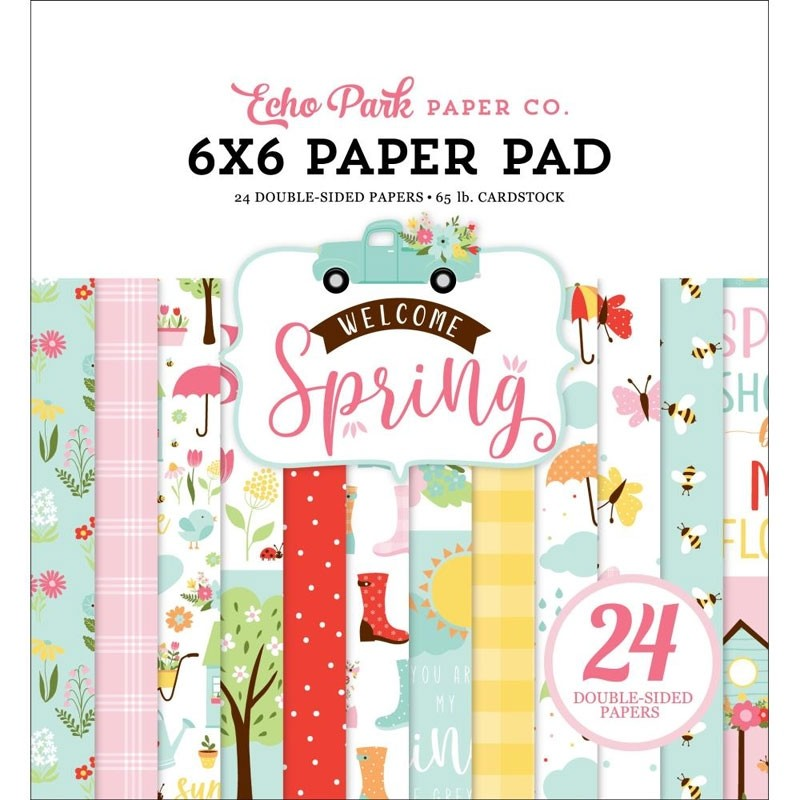 Echo Park Welcome Spring Paper Pad