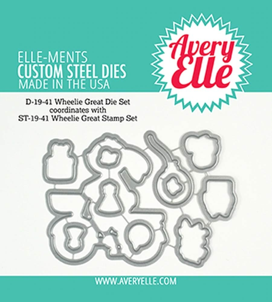 Avery Elle Die: Wheelie Great Elle-ments