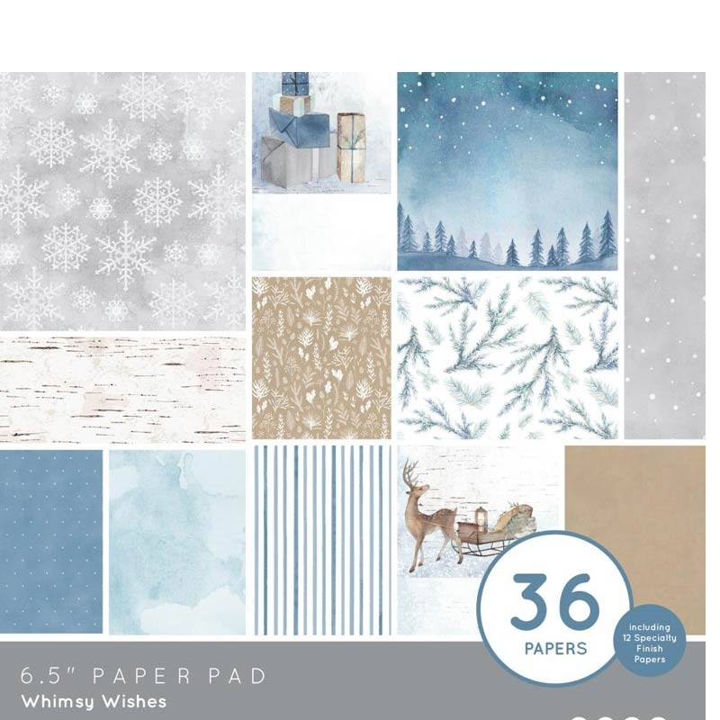 Kaisercraft Whimsy Wishes Paper Pad 6.5 x 6.5