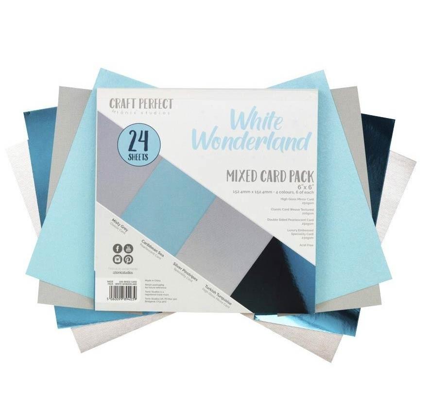 White Wonderland Mixed Card Pack 6x6