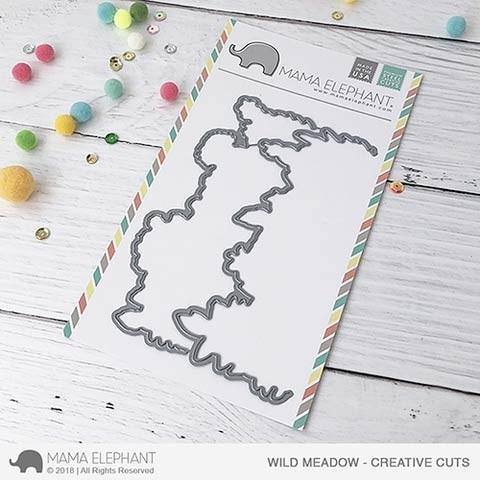 Mama Elephant Wild Meadow Creative Cuts