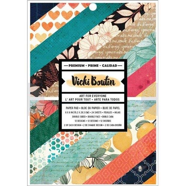 Vicki Boutin Wildflower & Honey - 12 Designs - 24 per Pack