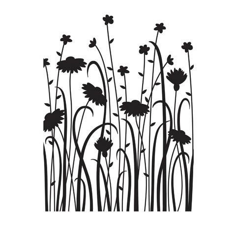 Wild Flower Embossing Folder