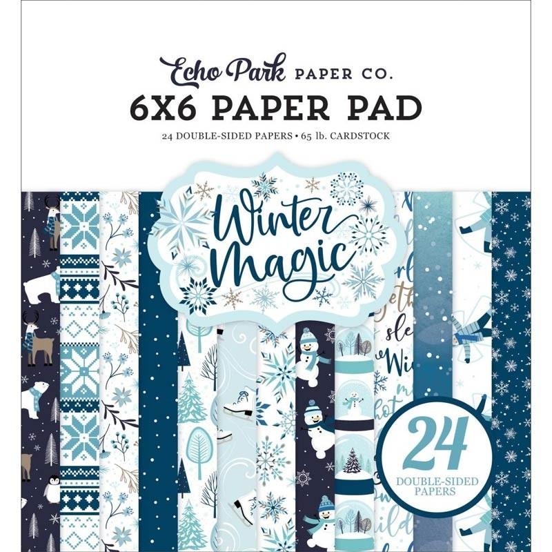 Echo Park Winter Magic 6x6 Paper Pad
