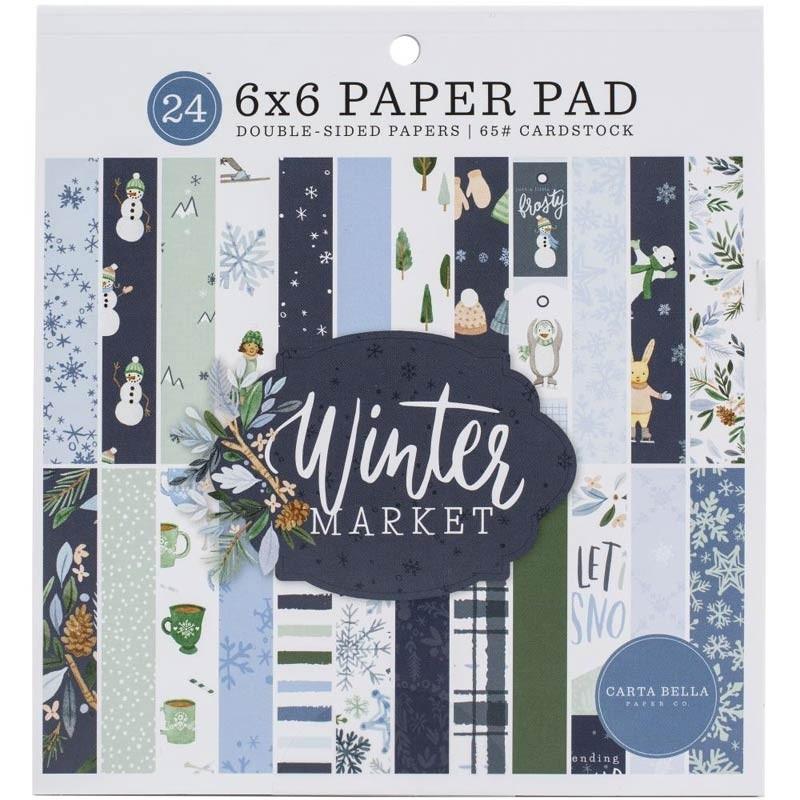 Echo Park Winter Market 6x6 paper pad