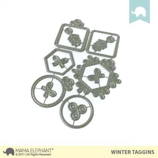 SALE - Winter Taggins - Creative Cuts