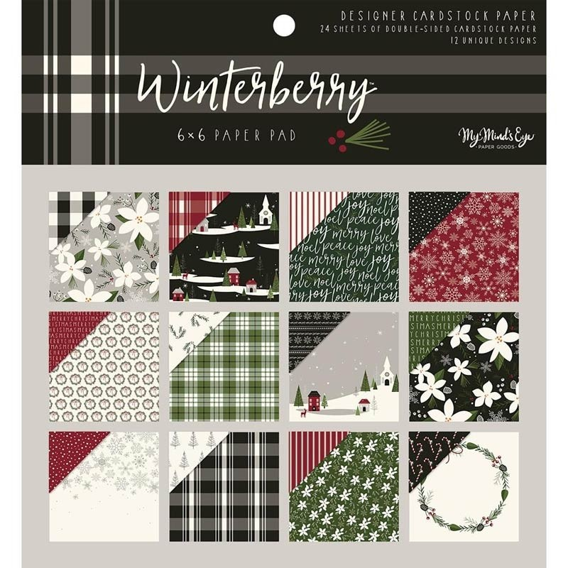 Winterberry 6x6 Paper Pad from My Minds Eye