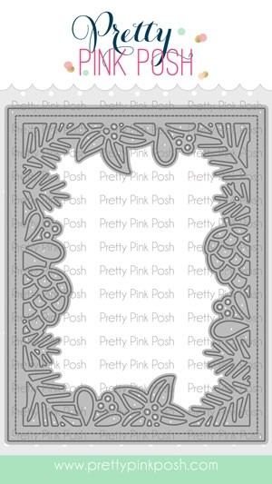 Pretty Pink Posh Winter Frame