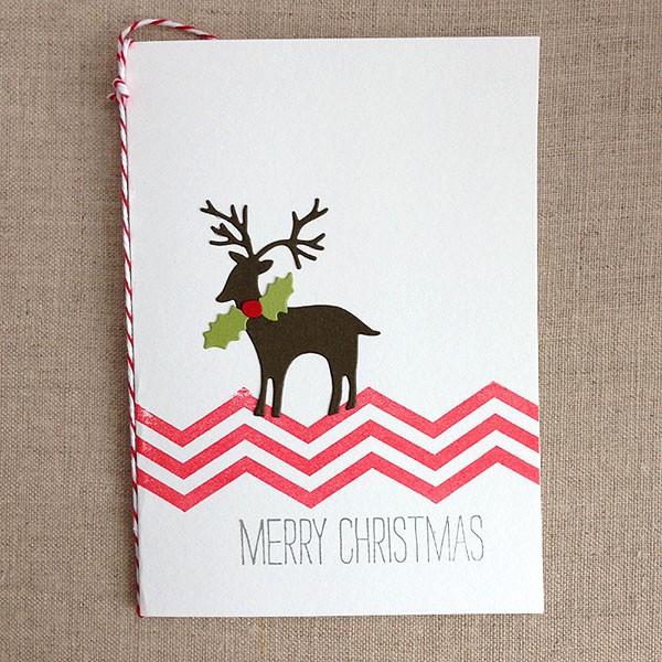 Woodland Deer Card