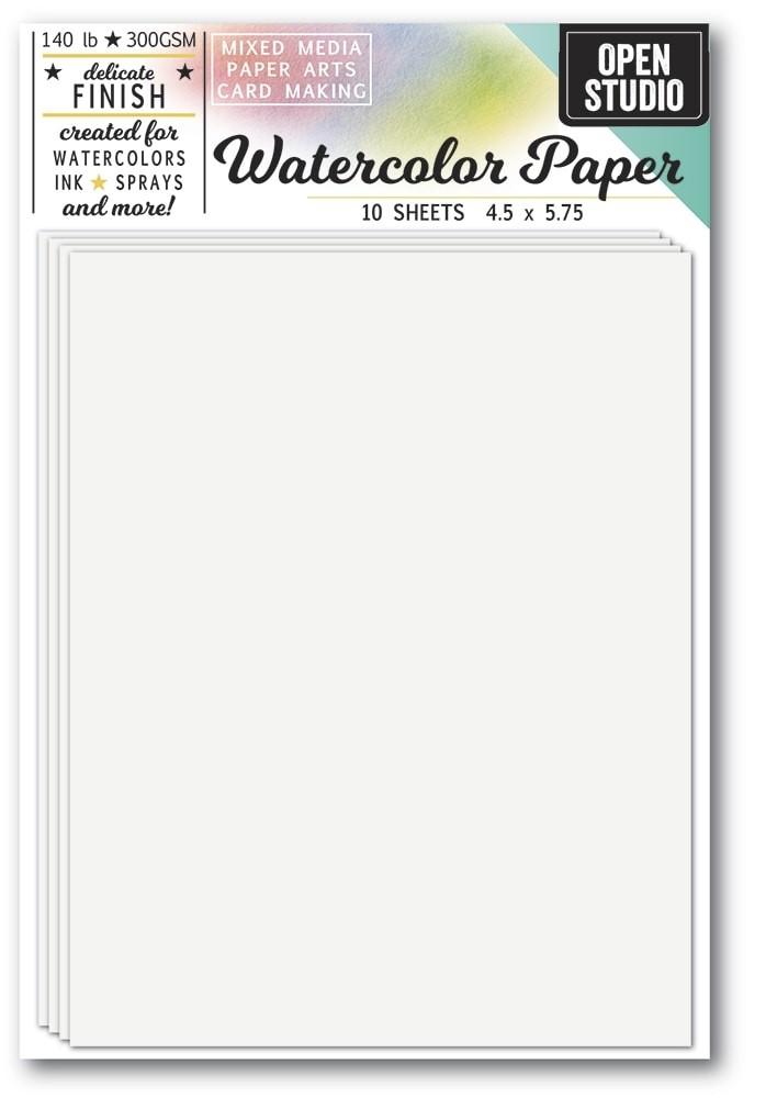 Memory Box Watercolor Paper