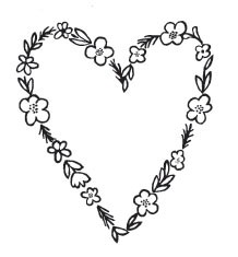 Floral Heart(1463f)