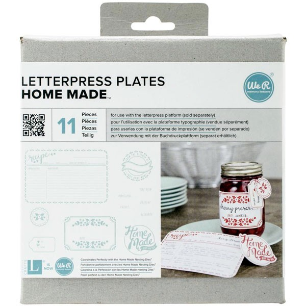 Home Made Letterpress Plates