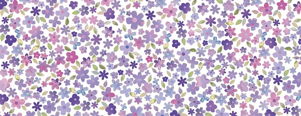 Cornelia Violet Wide Washi Tape