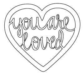 You are Loved Die (10216)