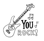 5507E - you rock guitar