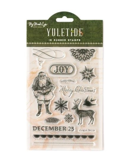 sale - My Mind's Eye's YULETIDE stamp set