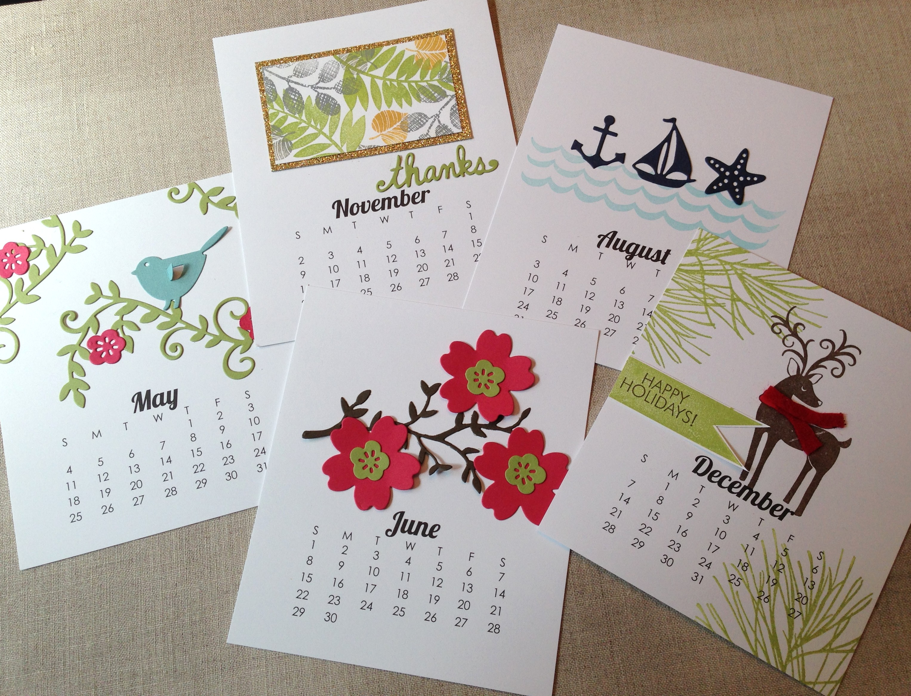 Diy calendars impress design it yourself calendars have been a tradition at impress for years we love it when the new versions for the upcoming year arrive solutioingenieria Gallery