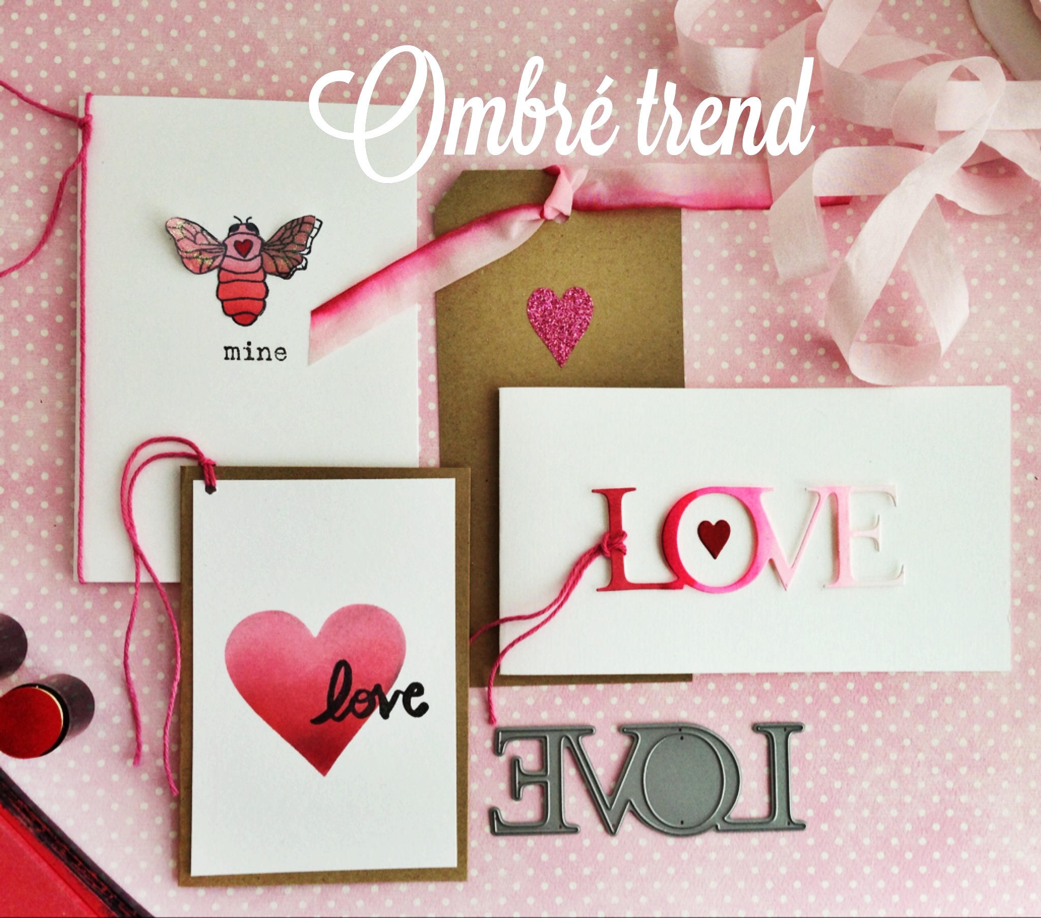 ombre - Make Your Own Anniversary Card