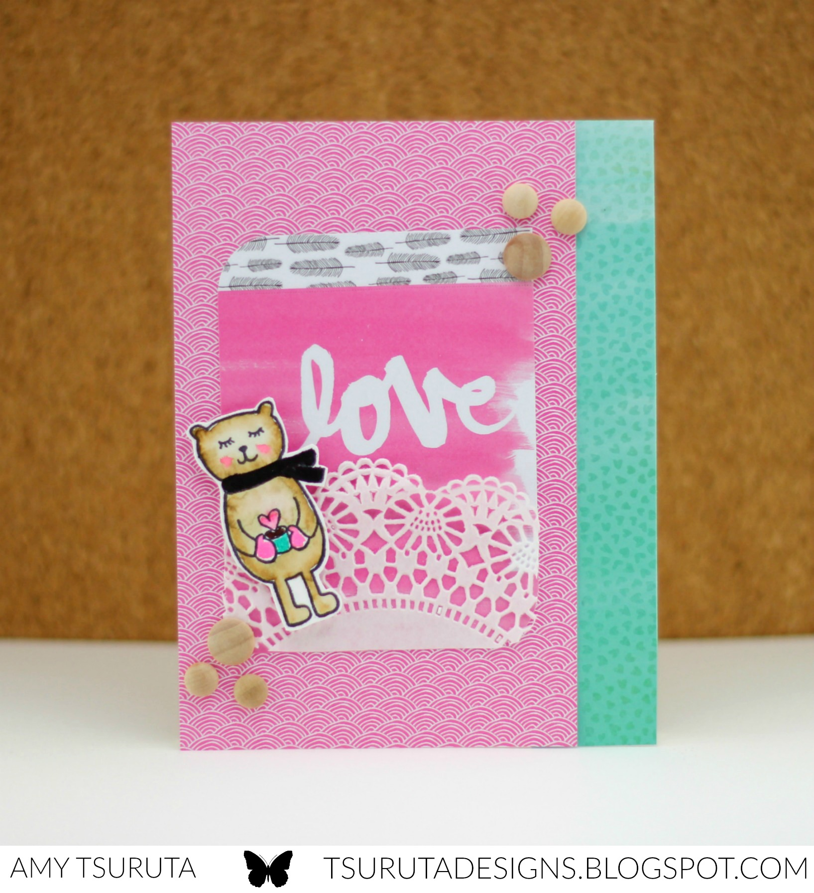 Love by Amy Tsuruta for Impress + Savvy Stamps