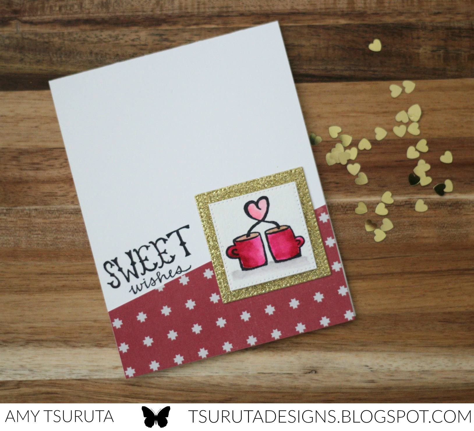 Sweet Wishes by Amy Tsuruta for Savvy stamps