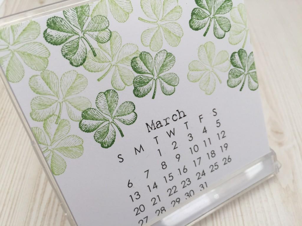 shamrock calendar