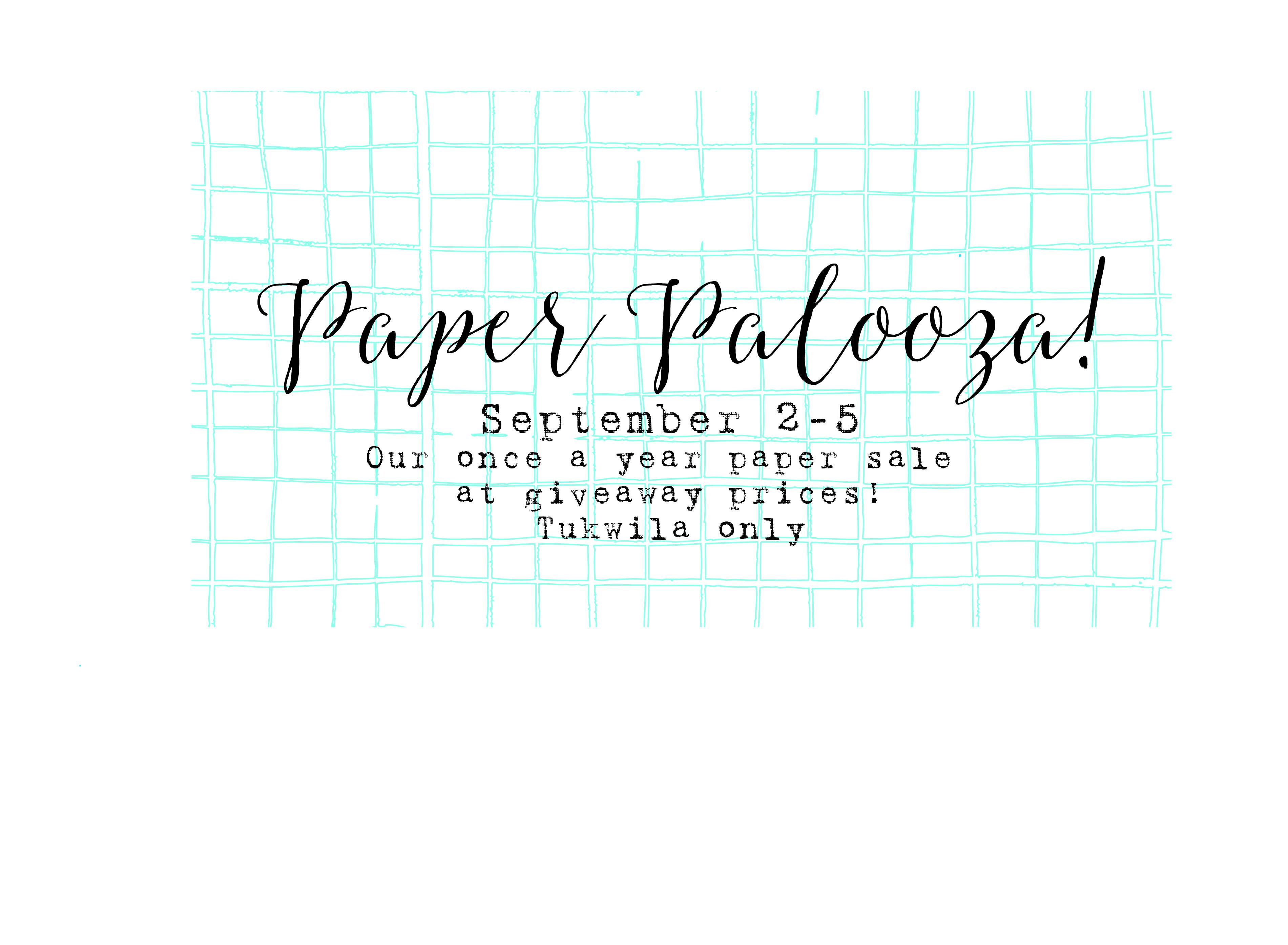 paper palooza