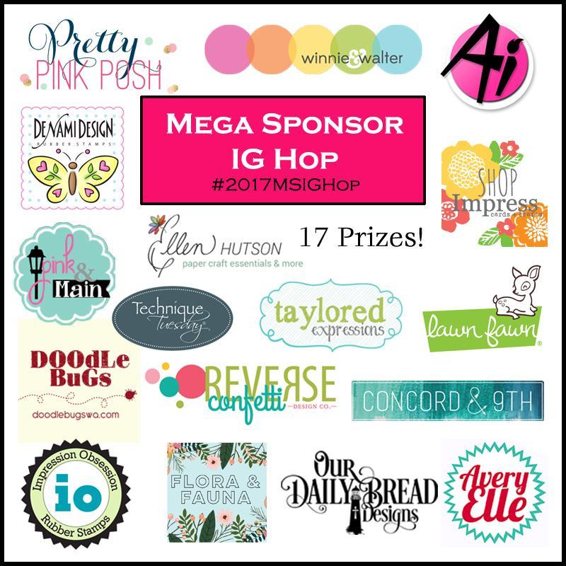 mega sponsor IG hop